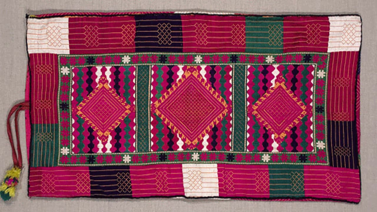 Embroidery in Swat Valley