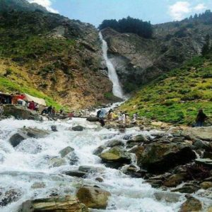 Waterfall between Kalam & Mohudand Lake