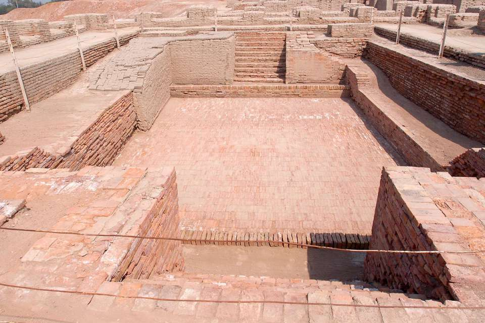 Mohenjo-Daro Great Common Bath