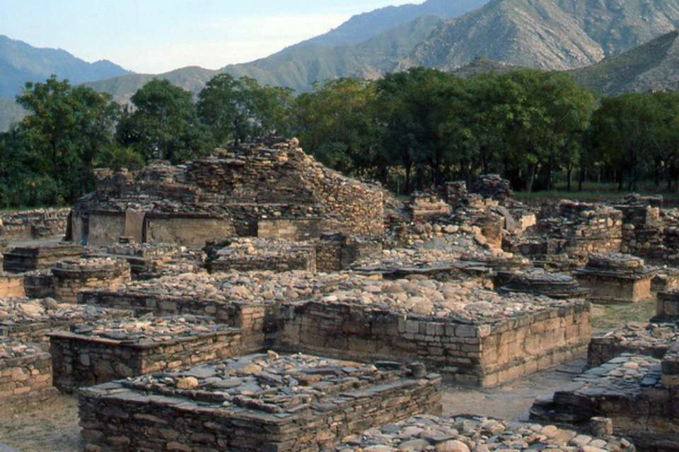 Butkara archaeological site Swat