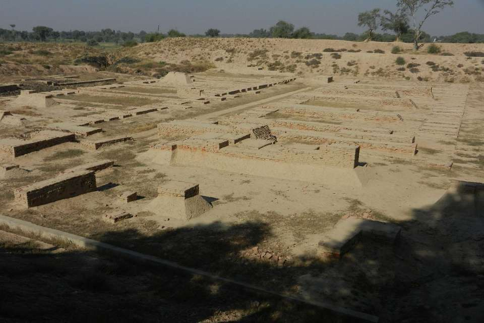 Harrapa archaeological site